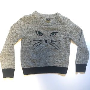 GAP Kitty Cat Girls Kids Toddler Sweater